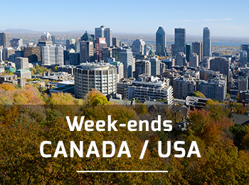 Week ends et escapades aux USA