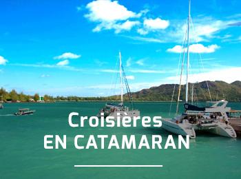 Croisi�res en Catamaran dans les �les !